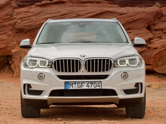 2017 BMW X7 Front