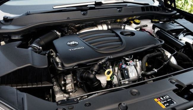 2017 Buick Envision Engine