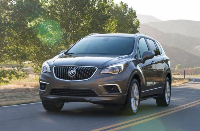 2017 Buick Envision Front Left Side