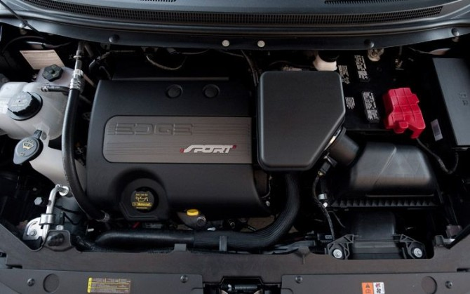2017 Ford Edge Sport Engine