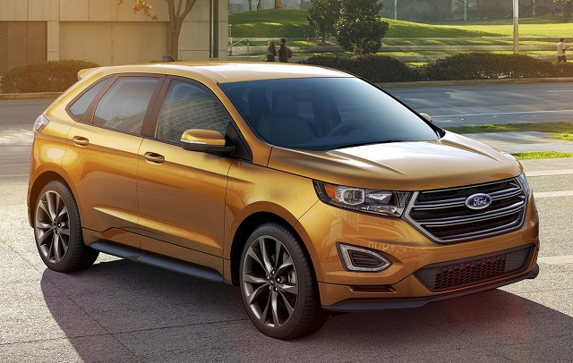 Ford Edge Sport Front Right Side