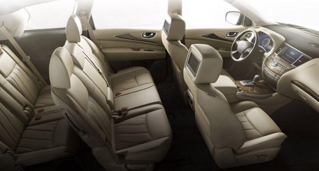 2017 Infiniti QX60 Hybrid Interior