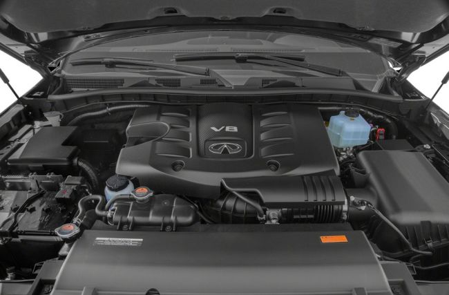 2017 Infiniti QX80 Engine