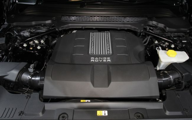 2017 Range Rover Evoque Engine