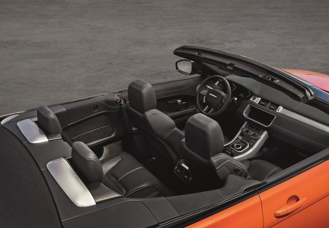 2017 Range Rover Evoque Interior
