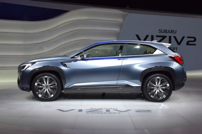 2017 Subaru Tribeca Side View
