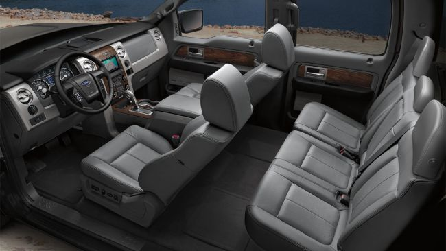 2014 Ford F 150 Tonka Interior