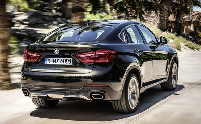 2015 BMW X7 Rear
