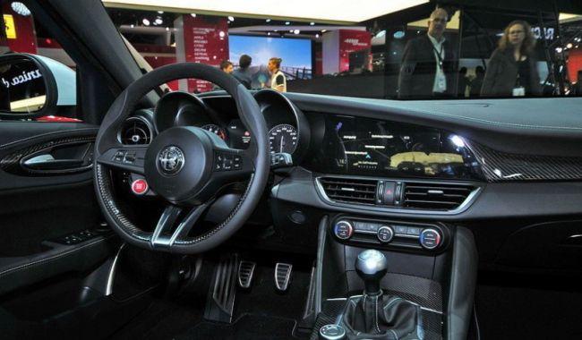 2016 Alfa Romeo Giulia QV Interior