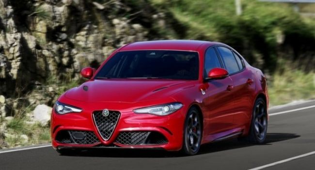 2016 Alfa Romeo Giulia QV On the road