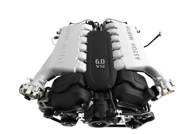 2016 Aston Martin Rapide S Engine