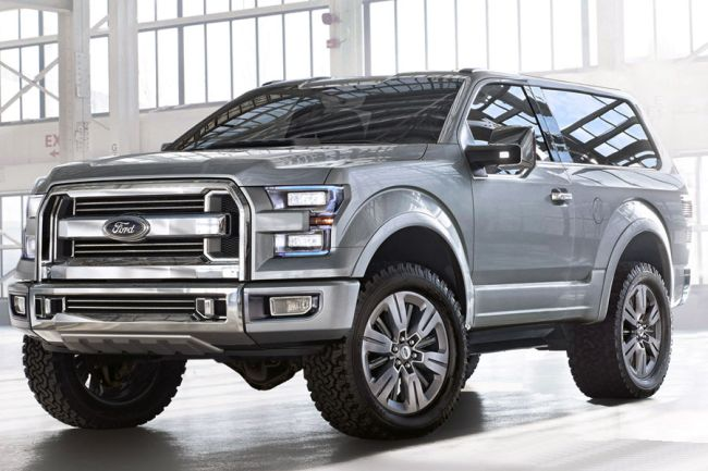 2016 Ford Bronco Front Side