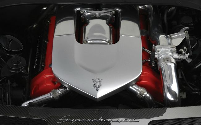 2016 Ford Thunderbird Engine