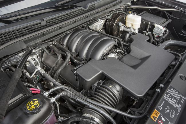 2016 GMC Sierra Denali 3500 HD Engine