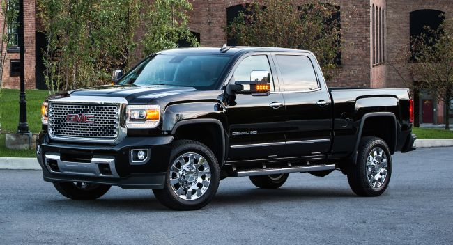 2016 GMC Sierra Denali 3500 HD Side View