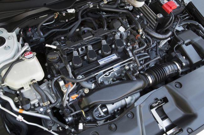 2016 Honda Civic Turbo Engine
