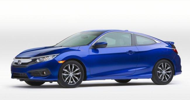 2016 Honda Civic Turbo Front Left Side