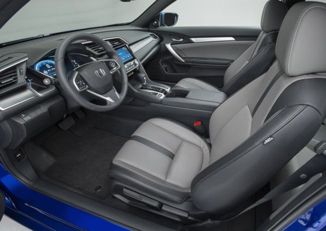 2016 Honda Civic Turbo Interior