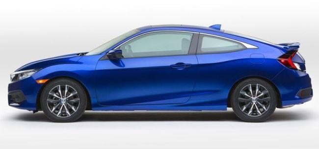2016 Honda Civic Turbo Side View