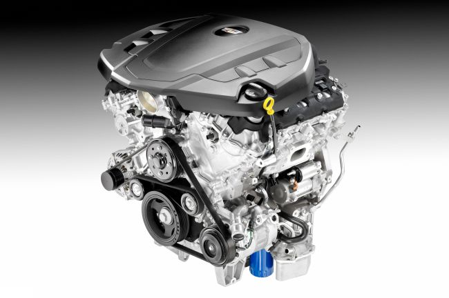2016 Lincoln Continental Engine