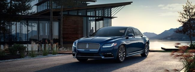 2016 Lincoln Continental Exterior