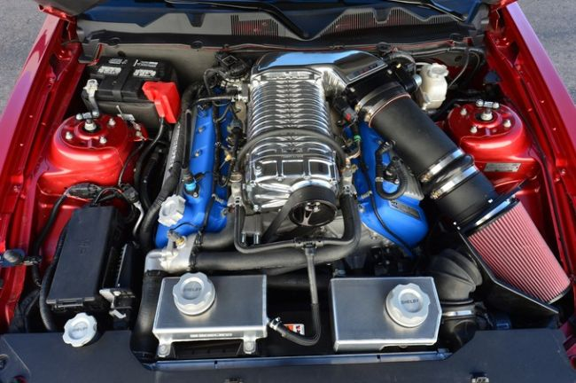 2016 mustang shelby gt500 engine 3 - Ford Mustang Gt500 2016
