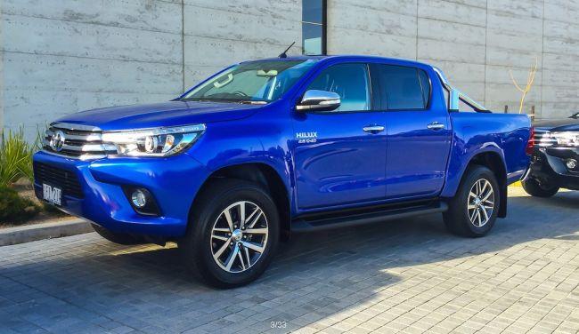 2016 Toyota Hilux Diesel Exterior