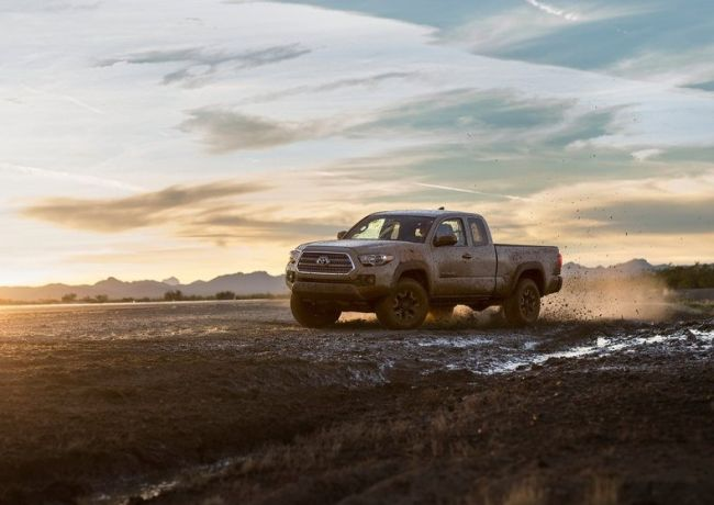 2016 Toyota Tacoma TRD Off Road 4x4 Drifting