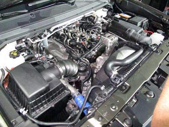 2017 Chevrolet Colorado ZR2 Engine