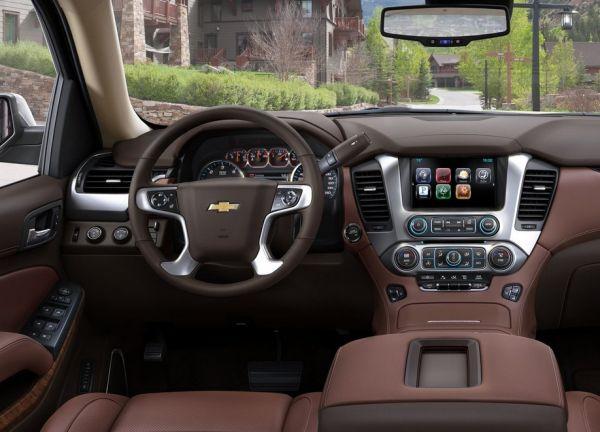 2017 Chevrolet Suburban Dashboard