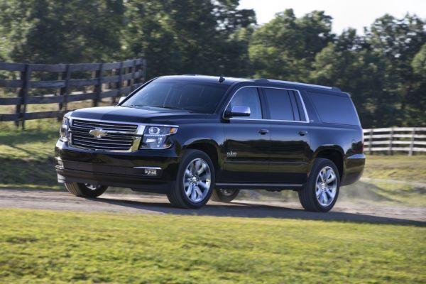 2017 Chevrolet Suburban Front Left Side