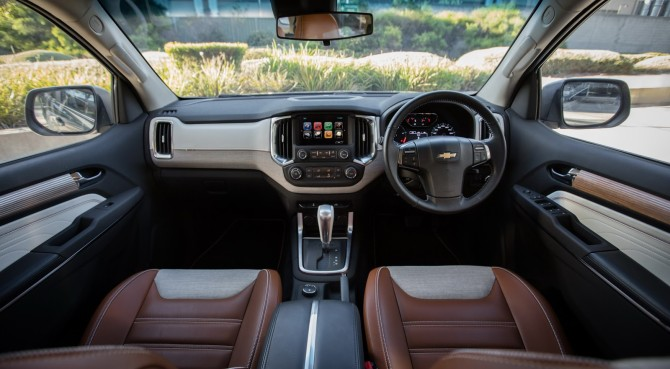 2017 Chevrolet Trailblazer Interior