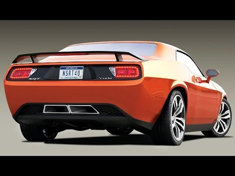 2017 Dodge Barracuda Rear