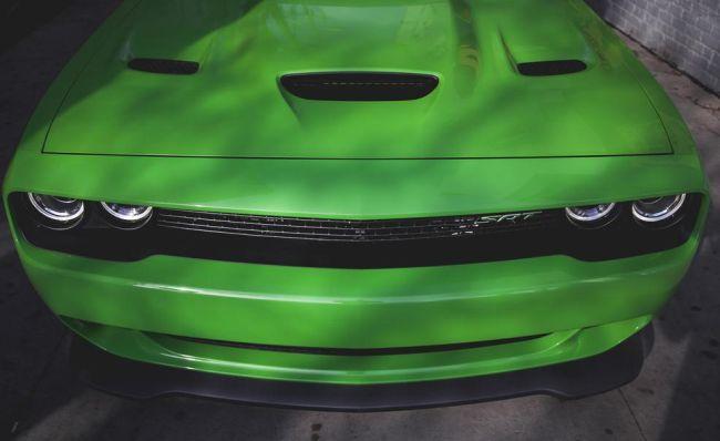 2017 Dodge Challenger Hellcat Hood