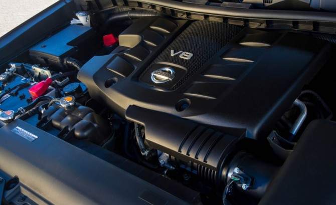 2017 Nissan Armada Engine