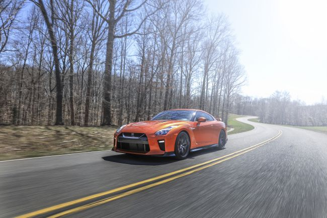 2017 Nissan GT-R On the road