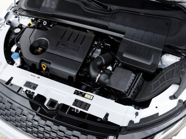 2017 Range Rover Evoque Engine