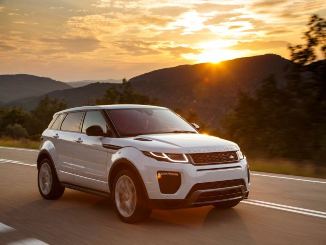2017 Range Rover Evoque Sunset