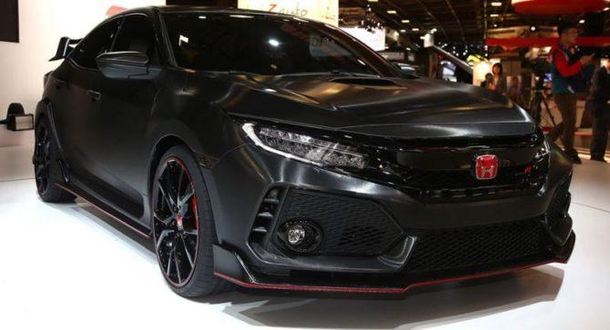 2018 Honda Civic Type R Price Specs Interior Usa Edition Release