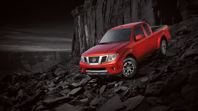 2017 MY Frontier - Source: nissanusa.com
