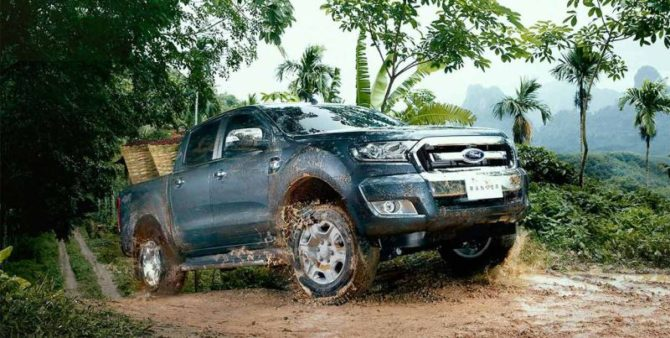 2016 MY Ford Ranger for South Africa - Source: ford.co.za