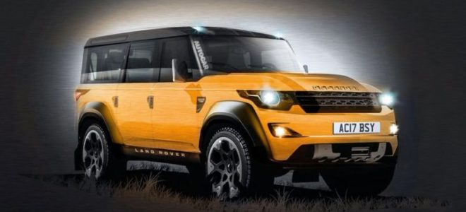2018 Land Rover Defender Release date, Price, USA, Interior, News