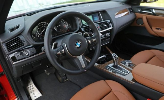 2017 Bmw X4 Interior Source Caranddriver